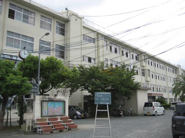 野芥小学校校舎外壁改修工事4