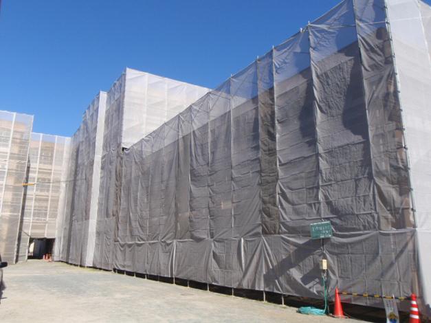 香椎第3中学校校舎外壁改修工事3