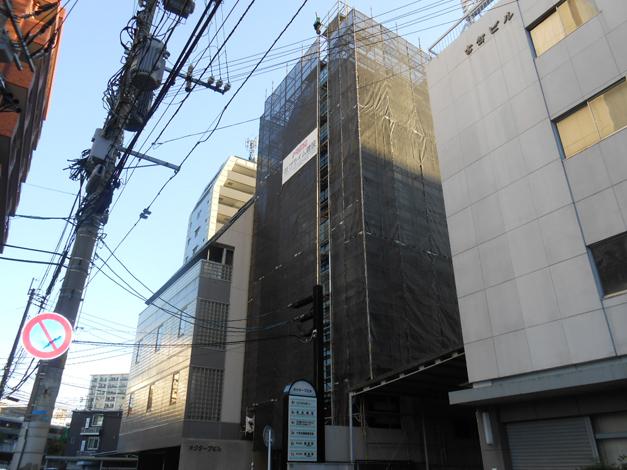 オクターブビル 屋根・カーテンウォール改修工事2