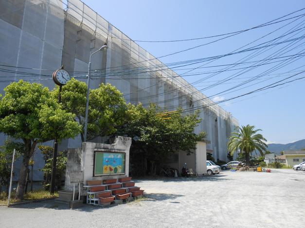 野芥小学校校舎外壁改修工事2