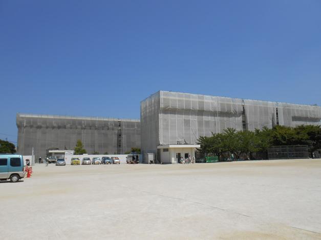 野芥小学校校舎外壁改修工事3