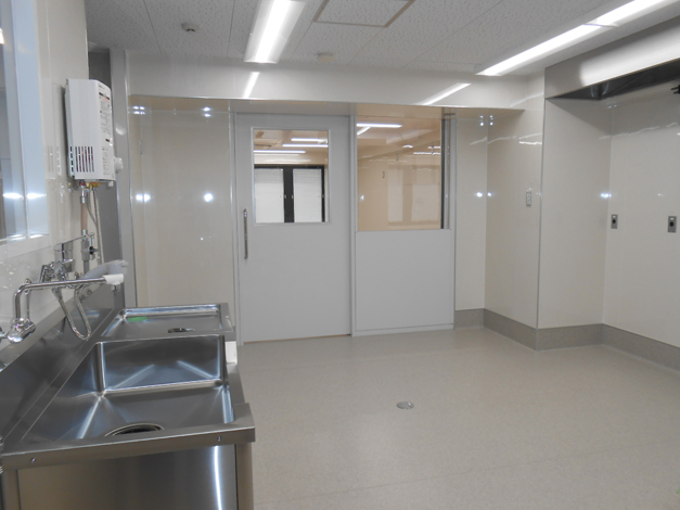 阪急クオリティーサポート食品検査センター移転工事5