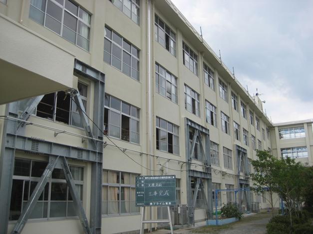 野芥小学校校舎外壁改修工事5